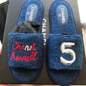 Chanel x Pharrell Rare slippers / sandals NIB